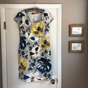 Boden cap sleeve dress